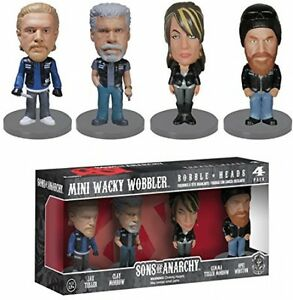 Mini-Bobble-Head-Figure-Son-of-Anarchy-4-Characters-JAX-TELLER-CLAY-Children-Toy
