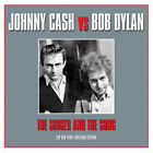 Johnny Cash VS Bob Dylan Singer and The Song Double LP Vinyl 32 Track 180 Gram