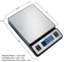 Weighmax W 2809 65 Lb X 01 Oz Digital Postal Shipping Scale Ac Adapter Included