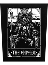 Temperance Black 29.5 x 36cm Deadly Tarot Back Patch
