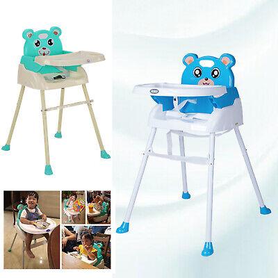 YORKING 4 in1 Kinderhochstuhl Baby Essstuhl Sitzerh/öhung Treppenhochstuhl Klappbar F/üR Einen Optimalen Komfort Des Babys Blau