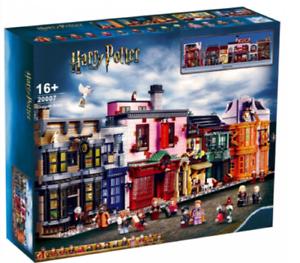 5544pcs Harry Potter Series Castle Diagon Alley Building Blocks Toys set bricks