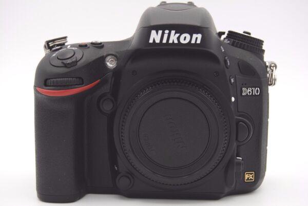 Ordonné Nikon D610 24.3mp 8.1cmscreen Caméra Slr Numérique Corps Seulement