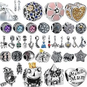 New-Fashion-Bling-Crystals-Jewelry-Beads-Charms-For-Sterling-925-Silver-Bracelet
