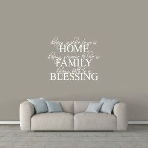 Wall Decal Entryway Living Room
