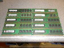 Job Lot 32 x 512MB PC2-5300U DDR2 Memory RAM Sticks! Tested!