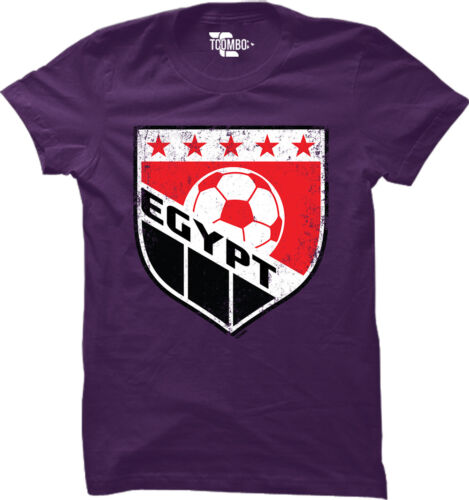 World Cup futbol football Olympics Womens T-Shirt Egypt Soccer Badge
