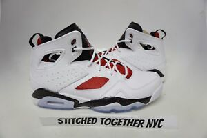 555475-121) MEN S AIR JORDAN FLIGHT CLUB  91 WHITE GYM RED BLACK  bedfac577