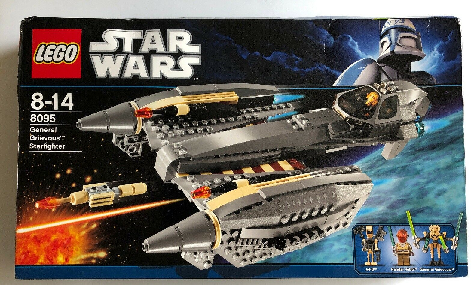 Lego Star Wars - General Grievous Starfighter - 8095 - New & Factory Sealed