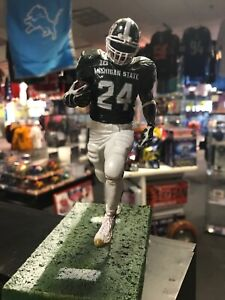 watch ce43c bb492 Details about LEVEON BELL MICHIGAN STATE CUSTOM PAINT MCFARLANE 1/1 Only  One That Exist Sparty