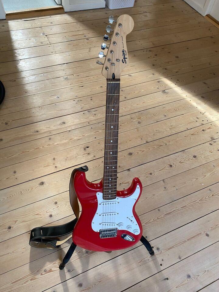 Akustisk og elektrisk Guitar og forstærker, Fender
