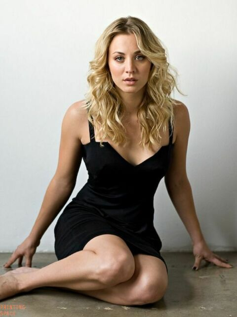 KALEY CUOCO BIG BANG Hollywood Celebrity Poster TV Movie Poster 24 in X 36 in 17