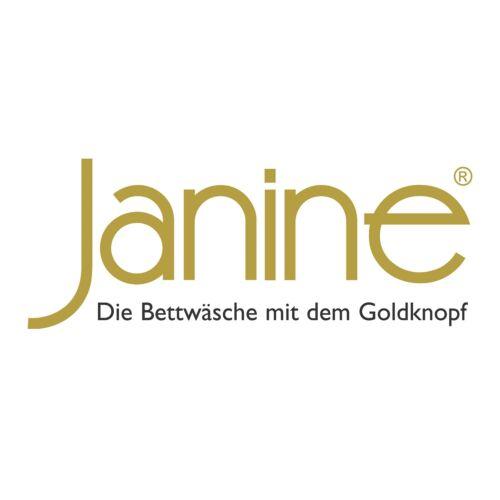 87029 07 Taupe Silber Kreise Streifen Retro Mako Satin Janine Bettwäsche J.D