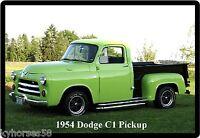 1954 Dodge C1 Pickup Refrigerator Magnet
