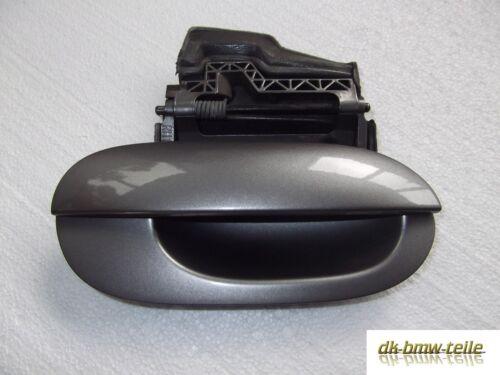 BMW e39 Poignée de porte extérieur arrière droit Sterlinggrau Metallic 472//7