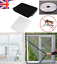 Window Insect Screen Mesh Net Fly Bug Mosquito Wasp Net Cover BLACK OR WHITE