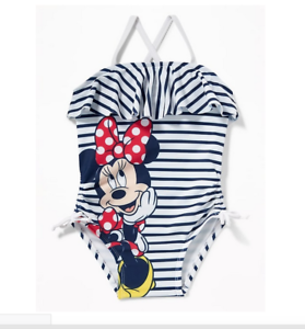 8e468905ec31a GAP OLD NAVY Disney Minnie Mouse Ruffled Swimsuit NWT 2T 3T 4T N12 ...