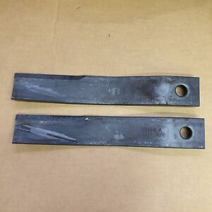 Bush Hog Mower Blades Parts 11150 Uplift Blade Set Of 2