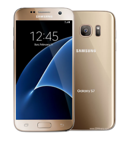 Deverrouille-Samsung-Galaxy-S7-G930A-32GB-AT-amp-T-Android-Telephone-5-1-034-4G-LTE-Or