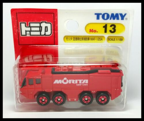 TOMICA 13 Morita Airport chemical fire engine MAF-125A 1//159 TOMY Diecast Car