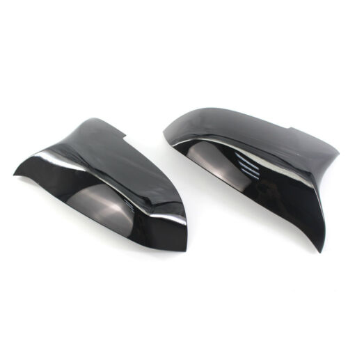 For BMW 14-16 5 Series F10 F11 Replace M Style Gloss Shiny Black Mirror Cover