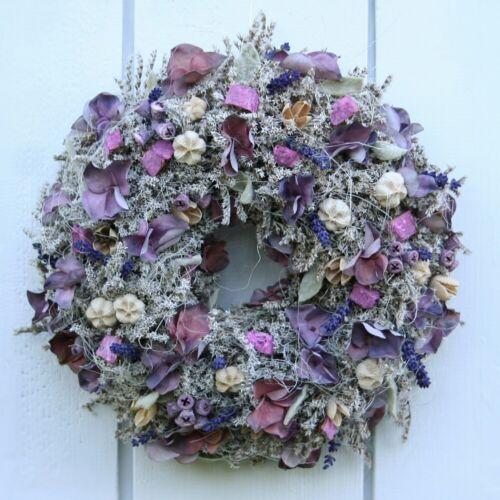 FRI-CollectionTürkranz Lavendelkranz mit Naturmaterialien und Lavendel 32 cm