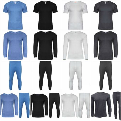 Mens Thermal Long Johns Short /& Long Sleeve T-Shirts Warm SKI Underwear .45ToG