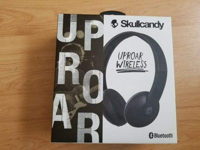 Brand New Skullcandy Uproar Bluetooth Headphones, Black, S5URHW-509, Sealed box