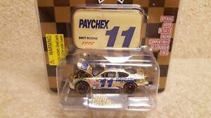 New-1998-Racing-Champions-1-64-NASCAR-Gold-Brett-Bodine-Paychex-Ford-Taurus-a