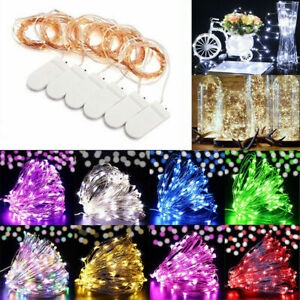 6-Pack-20-LED-Battery-Micro-Rice-Wire-Copper-Fairy-String-Lights-Decor-2M-Du