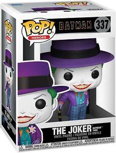 Funko-POP-Heroes-Batman-1989-Joker-w-Hat-Brand-New-In-Box