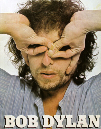 Bob Dylan 1978 Original World Tour Program U.K.