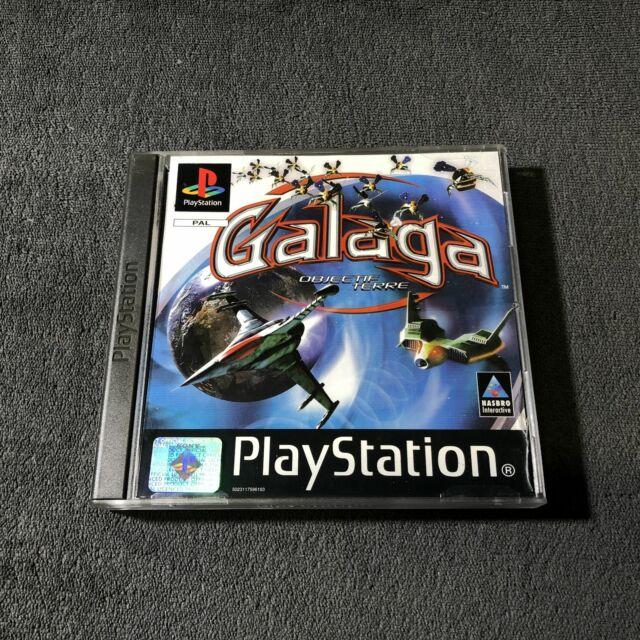 PS1 Galaga : Objectif Terre FRA Très Bon état