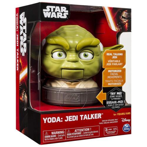 star wars yoda jedi talker parlant by disney