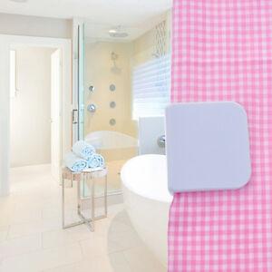 Image Is Loading 2X Self Adhesive Anti Splash Shower Curtain Clips