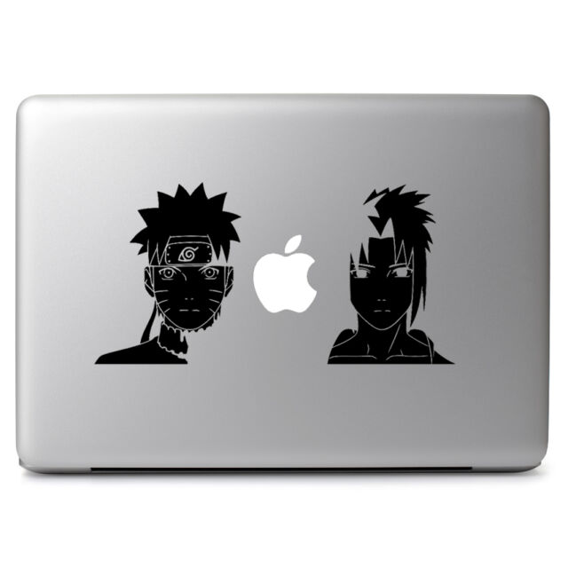 Naruto & Sasuke Decal Sticker for Macbook Air Pro Laptop Car Window Wall Door