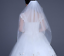 White-Ivory-Wedding-Veils-For-Bride-Beaded-Pearls-Bridal-Accessories-1-5M-1Tier thumbnail 3
