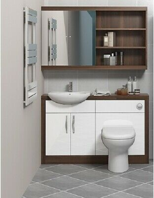 1200mm Bathroom Vanity Combination Sink Unit With Basin And Toilet