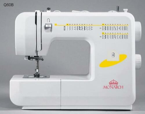 Monarch Q60B Drop-in Bobbin 34 Stitch Sewing Machine with extra Accessories!