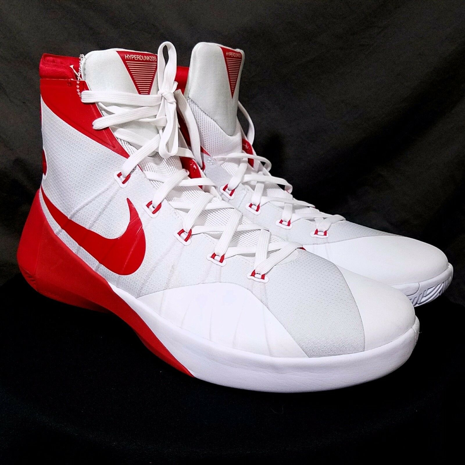 Nike Mens Hyperdunk 2015 TB Basketball shoes 812944 162 Red US 17 NEW