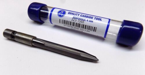 """New 1//4/"""" Solid Carbide Tapered Drill for Composite Carbon Fiber Quick Chuck"""