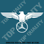 EAGLE-MERCEDES-Decal-Sticker-Car-Euro-German-Vehicle-4WD-AWD-Truck-Garage-Decal thumbnail 1