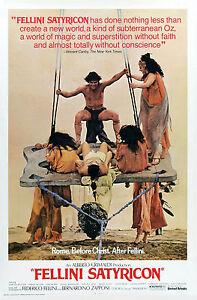 Movie poster - FELLINI SATYRICON