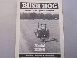 Frontier Bush Hog Manual R1060