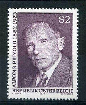 1973 A Nueva Brilliant Austria Sello 1240 Petzold
