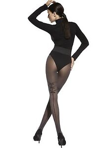 e5511f4fecc Image is loading Black-Pantyhose-Sheer-20-Denier-Sexy-Hosiery-Fancy-
