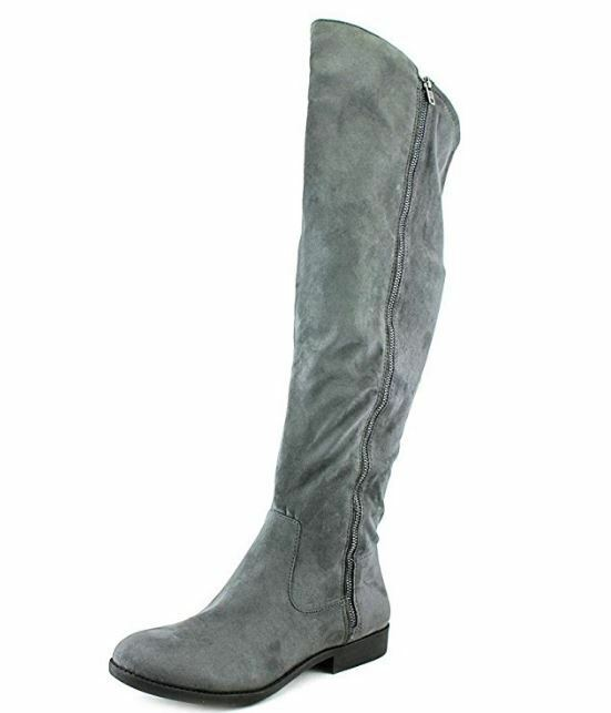 Style & Co. Womens Hadleyy Closed Toe Knee High Fashion Boots, Grey, Size 5