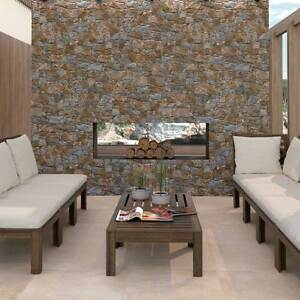 Ol Cusco Stacked Dry Stone Rustic Slate Effect Porcelain Wall Tiles