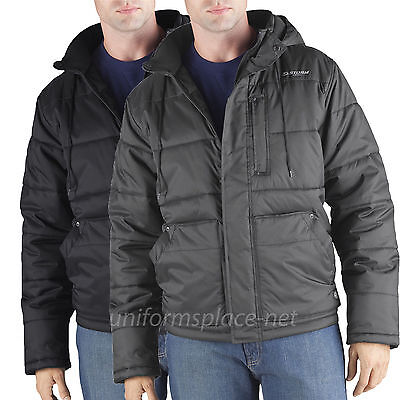 Dickies Jacket Mens Channel Quilted Insulated hooded Jackets Lined TJ544 Colors