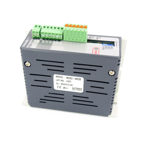Autonics MD2U-MD20 Stepping Motor Driver 2 Phase 2.0A//Phase 24-35 VDC